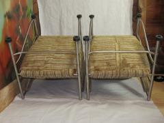 Warren McArthur Pair of Warren McArthur Stainless Steel Light Lounge Lounge Chair1934 35 - 780823