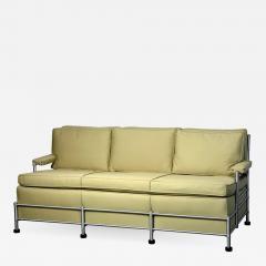 Warren McArthur Rare Slat Back Three Seat Warren McArthur Park Avenue Sofa 1933 1934 - 587385