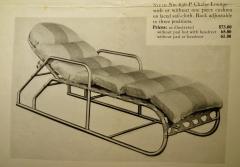 Warren McArthur Rare Warren McArthur Adjustable Chaise circa 1938 - 737654