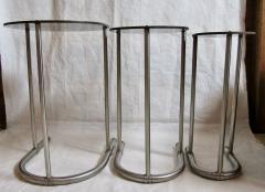 Warren McArthur Rare Warren McArthur Stainless Steel Nest of Tables 1934 35 - 611305