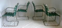 Warren McArthur Set of Four Warren McArthur Webbed Lounge Chairs circa 1938 - 569096
