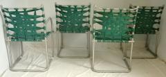 Warren McArthur Set of Four Warren McArthur Webbed Lounge Chairs circa 1938 - 569097