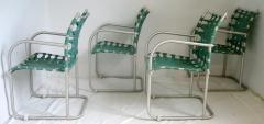 Warren McArthur Set of Four Warren McArthur Webbed Lounge Chairs circa 1938 - 569099