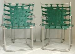 Warren McArthur Set of Four Warren McArthur Webbed Lounge Chairs circa 1938 - 569100