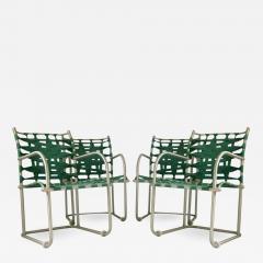 Warren McArthur Set of Four Warren McArthur Webbed Lounge Chairs circa 1938 - 684078