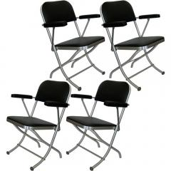 Warren McArthur Set of Ten Warren McArthur Folding Chairs - 181216