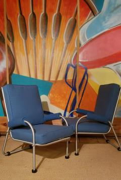Warren McArthur Warren McArthur Four Lounge Chairs Circa 1939 - 2067624