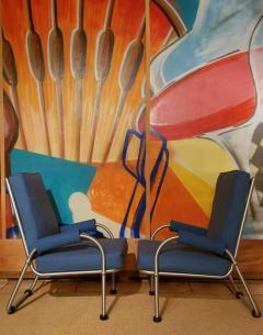 Warren McArthur Warren McArthur Four Lounge Chairs Circa 1939 - 2067627