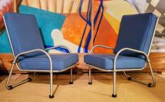 Warren McArthur Warren McArthur Four Lounge Chairs Circa 1939 - 2067629