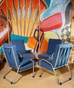 Warren McArthur Warren McArthur Four Lounge Chairs Circa 1939 - 2067631