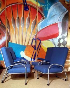 Warren McArthur Warren McArthur Four Lounge Chairs Circa 1939 - 2067633