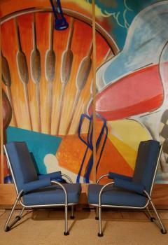 Warren McArthur Warren McArthur Four Lounge Chairs Circa 1939 - 2067635