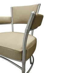 Warren McArthur Warren McArthur Pair of Lounge Chairs in Tubular Aluminum 1930s signed  - 1052334