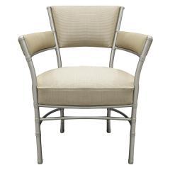 Warren McArthur Warren McArthur Pair of Lounge Chairs in Tubular Aluminum 1930s signed  - 1052335