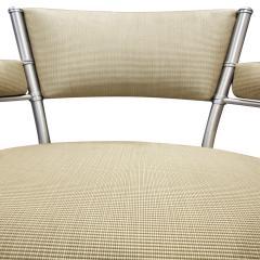 Warren McArthur Warren McArthur Pair of Lounge Chairs in Tubular Aluminum 1930s signed  - 1052336