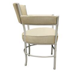 Warren McArthur Warren McArthur Pair of Lounge Chairs in Tubular Aluminum 1930s signed  - 1052340