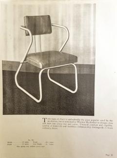 Warren McArthur Warren McArthur Z Chair Model 708 circa 1938 - 1667684
