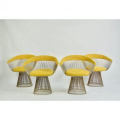 Warren Platner 1960s Vintage Warren Platner Dining Chairs Set of 4 - 1753680