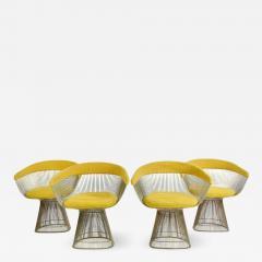 Warren Platner 1960s Vintage Warren Platner Dining Chairs Set of 4 - 1753915