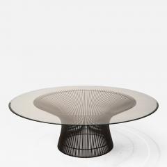 Warren Platner Early Warren Platner Coffee Table in Bronze by Knoll 1966 - 1066503