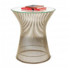 Warren Platner Nickel Side Table by Warren Platner for Knoll - 966381