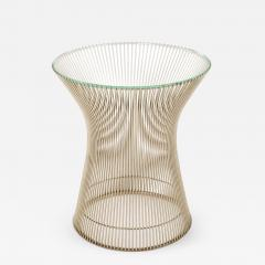 Warren Platner Nickel Side Table by Warren Platner for Knoll - 968244