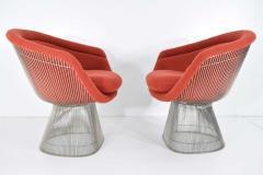 Warren Platner Pair of 1960s Nickel Plated Warren Platner Lounge Chairs - 1145988