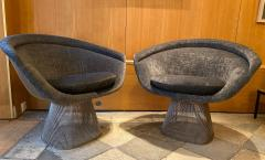 Warren Platner Pair of Lounge Chairs for Knoll - 2012783