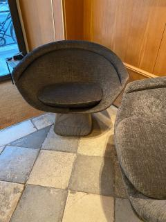 Warren Platner Pair of Lounge Chairs for Knoll - 2012784