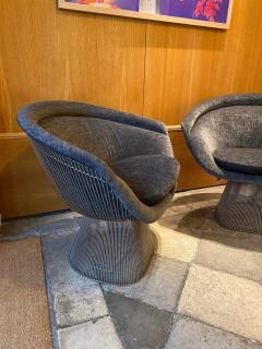 Warren Platner Pair of Lounge Chairs for Knoll - 2012785