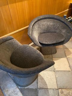 Warren Platner Pair of Lounge Chairs for Knoll - 2012788