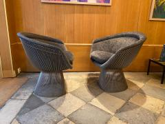 Warren Platner Pair of Lounge Chairs for Knoll - 2012789