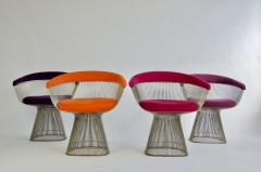 Warren Platner Set of Four Warren Platner Chairs - 957318