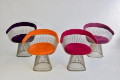 Warren Platner Set of Four Warren Platner Chairs - 957332