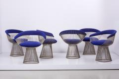 Warren Platner Set of Wire Dining Table and Six Chairs by Warren Platner for Knoll - 1367013