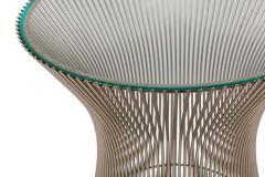 Warren Platner Warren Platner Glass and Chrome Side Table for Knoll - 1495117