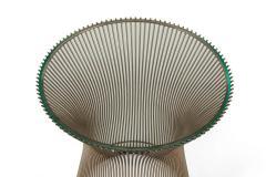 Warren Platner Warren Platner Glass and Chrome Side Table for Knoll - 1495119