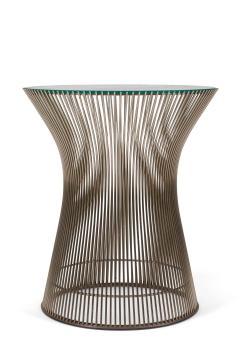 Warren Platner Warren Platner Glass and Chrome Side Table for Knoll - 1495121
