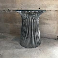 Warren Platner Warren Platner Graceful Chrome Side Table for Knoll Organic Modern 1960s USA - 1632362