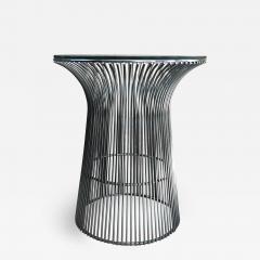 Warren Platner Warren Platner Graceful Chrome Side Table for Knoll Organic Modern 1960s USA - 1637212