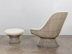 Warren Platner Warren Platner Lounge Chair and Ottoman - 1468274