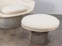 Warren Platner Warren Platner Lounge Chair and Ottoman - 1468281