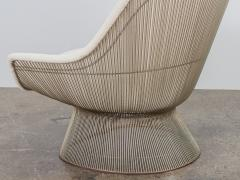 Warren Platner Warren Platner Lounge Chair and Ottoman - 1468288