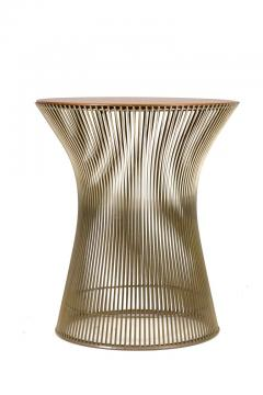Warren Platner Warren Platner Walnut and Chrome Side Table for Knoll - 1090108