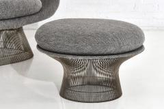Warren Platner Warren Platner for Knoll Lounge Chair With Ottoman - 2045058