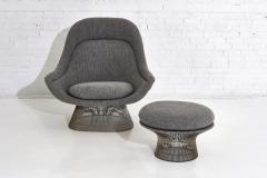 Warren Platner Warren Platner for Knoll Lounge Chair With Ottoman - 2045062