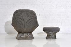 Warren Platner Warren Platner for Knoll Lounge Chair With Ottoman - 2045065
