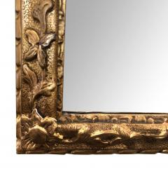 Well carved English George II Style Giltwood Mirror with Dramatic Crest - 1968428