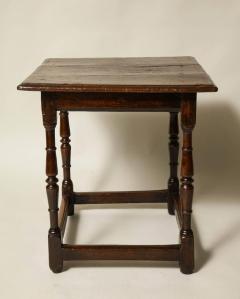 Welsh Square Oak Tavern Table - 661532