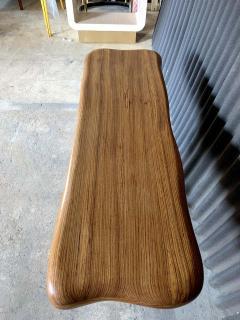 Wendell Castle American Studio style Zebra Wood Two Drawer Console Desk - 1267126